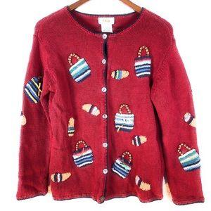 Talbot's Petites Cardigan Sweater